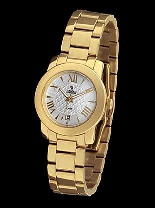 Dogma L7026 - Reloj Señora Movimiento Quarzo Brazalete Metálico Dorado