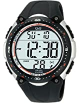 Q&Q Standard Dual Time Digital White Dial Men's Watch M010-002