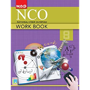 MTG National Cyber Olympiad Work Book Class 8 (Old Edition)