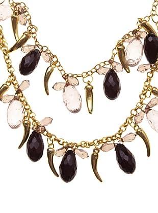 Sigris Collar Cuernos (Dorado Viejo)