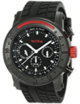 Red Line Red Line Rl-10121 Stainless Steel Watch With Black Strap - Rl-10121