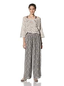 Pinkyotto Women's Elise Pants (Grey)