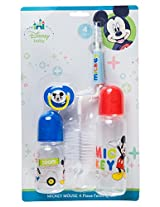 Disney Mickey Mouse 4 Piece Feeding Set