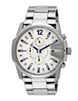 Diesel End-of-Season Analog Silver Dial Men's Watch - DZ4181