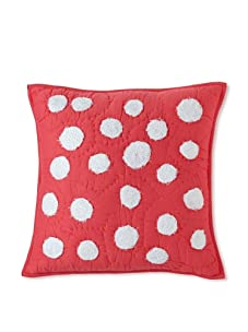 Amity Home Dots Pillow (Hot Pink)