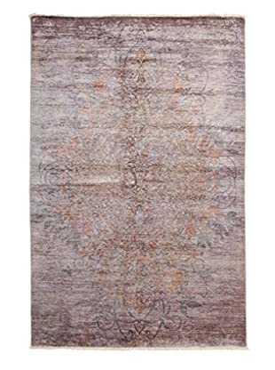 Darya Rugs Ziegler One-of-a-Kind Rug, Pink, 5' 2