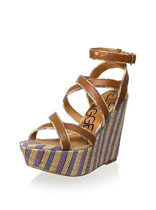 Kelsi Dagger Women's Paxton Wedge Sandal (Cobalt)