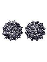 Gehna Jaipur Non-Precious Metal Dangle & Drop Earring For Women (Silver)
