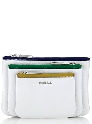Furla Taschenset Litchi weiß