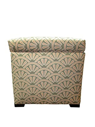 Sole Designs Tami Storage Ottoman, Bonjour Blush