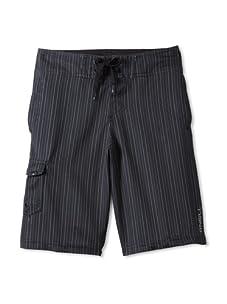 O'Neill Boy's 8-20 Wall Street Stretch Boardshort (Black)