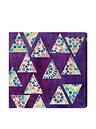 Oliver Gal 'Deco Triangles' Canvas Art