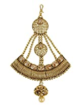 Gorgeous Wedding Design Bridal Maang Tikka Side Passa For Women Gift Jewellery