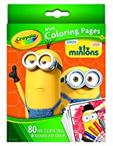 Crayola Mini Coloring Pages - Minions