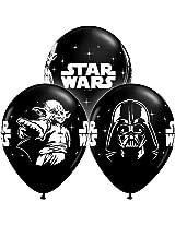 "11"" Star Wars Around Onyx Black (50 Count)"