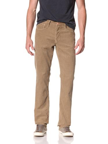 Earnest Sewn Men's Kyrre Tapered Corduroy Pants (Khaki)