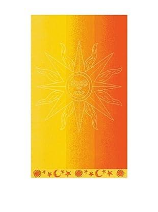 Art Experience Toalla De Playa Solar Naranja 100 x 170