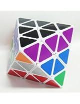 Lanlan 8-axis Octahedron Diamond Puzzle White