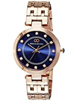 Gio Collection Analog Blue Dial Women's Watch - G2016-22