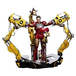 【クリックで詳細表示】【ムービー・マスターピース】 『アイアンマン2』 1/6スケールフィギュア パワードスーツ装着機 (フィギュア付き)