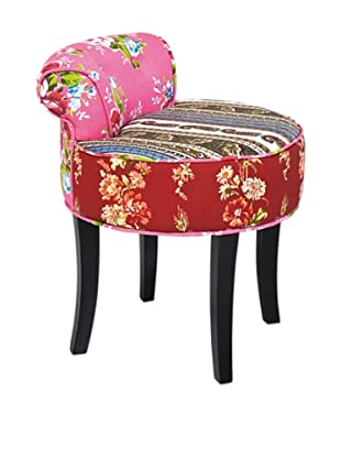Kare Design Taburete Backrest Patchwork