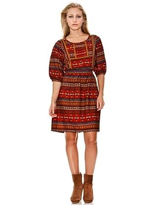 Springfield Vestido Navajo Print (Rojo)