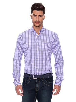 Caramelo Camisa Eretria (Blanco / Violeta)