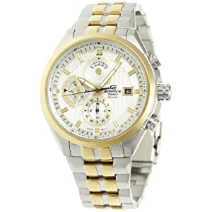 Casio Tow Tone Stainless Steel Analog Men Watch - ED426