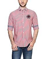 Allen Solly Men Comfort Fit Shirt_AYSF514S03315_39_Red
