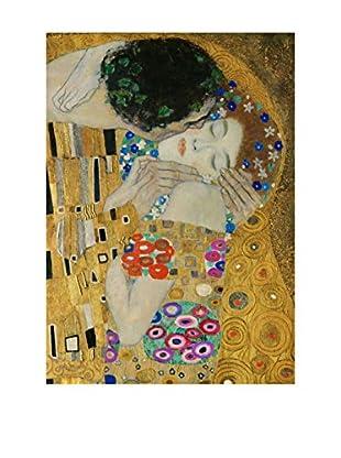 LegendArte  Wandbild Der Kuss (Detail) von Gustav Klimt