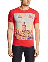 Flying Machine Men's Cotton T-Shirt