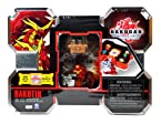 Spin Master Year 2010 Bakugan Gundalian Invaders Box Set - Red BAKUTIN with Pyrus Red Coredem, Silver Rock Hammer Battle Gear, 5 Ability Cards and 5 Metal Gate Cards Plus Hidden DNA Code
