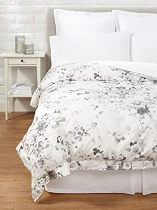 Belle Époque Flower Wave Duvet Cover (Grey)