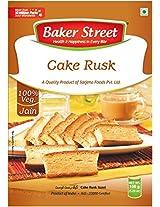 Baker Street Eggless Cake Bread Toast Rusk 150 Gms