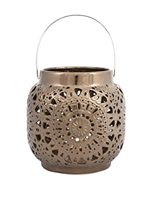 Metallic Cutwork Lantern, Small