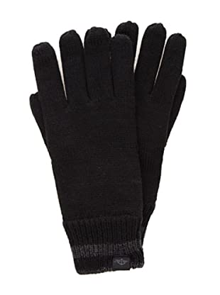Dockers Guantes de Lana con Thinsulate(TM) (negro / gris)