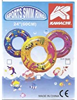 """Kamachi Swimming Safety Ring Pvc Tube Tyre For Kids Size 24"""""""