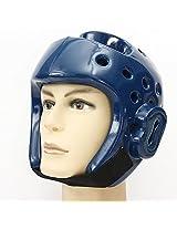 1PCS Kickboxing Taekwondo Helmet Head Protector S-XL Blue
