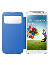 Samsung Galaxy S4 S - View Flip Cover - Sky Blue