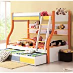 Mebelkart Bunk Bed with 3 Beds
