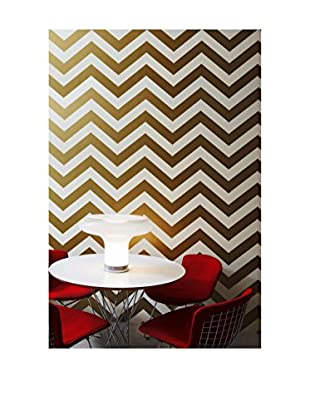 Tempaper Designs Zee Self-Adhesive Temporary Wallpaper, Gold, 20.5