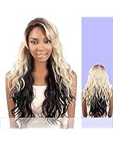 Ldp Briz (Motown Tress) Heat Resistant Fiber Lace Front Wig In Rt4 614 4