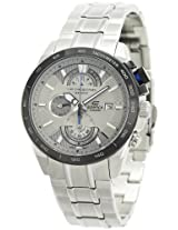 Casio Edifice Chronograph Silver Dial Men's Watch - EFR-520D-7AVDF (EX066)