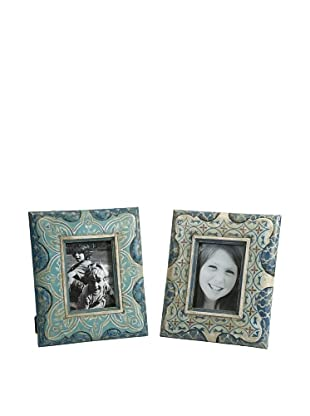 Set of 2 Haani Hand Painted Frames