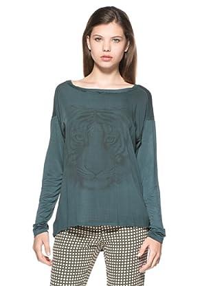 Eccentrica Camiseta Libby (Verde)