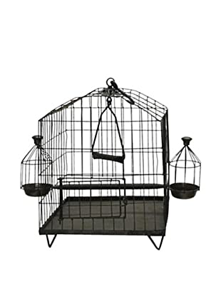 Octagon Shaped Iron Bird Cage