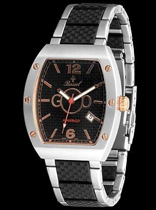 Bassel Reloj CR4035 de Acero negro / bronce