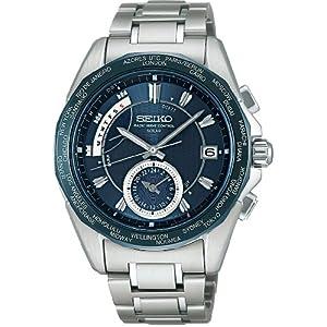 【クリックで詳細表示】[セイコー]SEIKO 腕時計 BRIGHTZ ブライツ ワールドタイム ソーラー 電波時計 SAGA035 メンズ