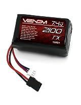 Venom 5C 2S 2100mAh 7.4 Receiver/Transmitter Hump Pack LiPO Battery
