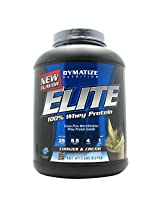 Dymatize Nutrition Elite 100% Whey Protein - 5 Lbs (Cookies and Cream)